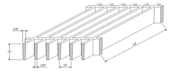 fiberglass reinforced plastic, fiberglass grate, frp grating
